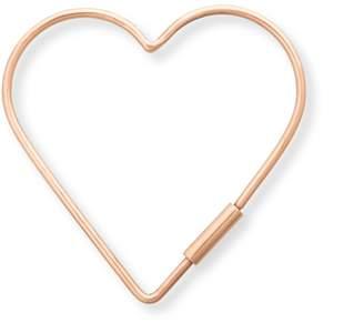Oliver Bonas Heart Metal Keyring