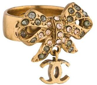 Chanel Bow Cocktail Ring