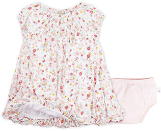 Burt's Bees Baby Ditsy Floral Organic Cotton Dress and Diaper Cover Set