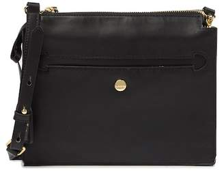 Lodis Downtown Kaya RFID-Protected Leather Crossbody Bag