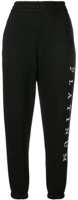 Alexander Wang Platinum track pants