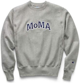 Champion (チャンピオン) - チャンピオン Champion クルーネックスウェットシャツ MoMA Edition M グレー