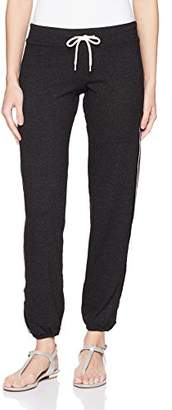 Monrow Women's Vintage Sweats with Sporty Elastic