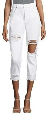 7 For All Mankind Josefina High Waist Boyfriend Jeans