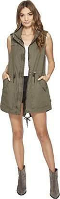 Levi's Women's Light Weight Cotton Fishtail Vest