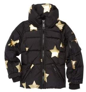 SAM. Little Girl's Star Puffer Jacket