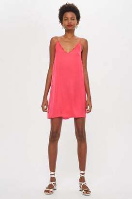 Topshop Scallop Mini Slip Dress