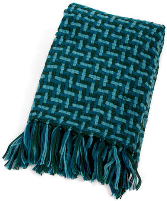 Mackenzie Childs MacKenzie-Childs Basketweave Throw Blanket