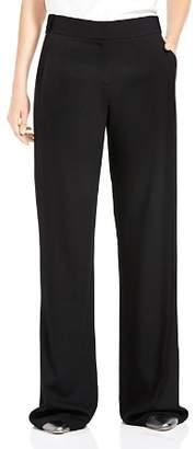 Halston Oversize Wide-Leg Pants