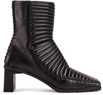Balenciaga Biker Booties in Black | FWRD