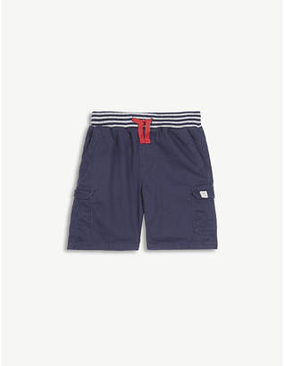 The Little White Company Cotton cargo shorts 1-6 years