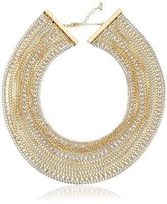 "ABS by Allen Schwartz Out Last Night"" Multi-Row Torsade Strand Necklace"