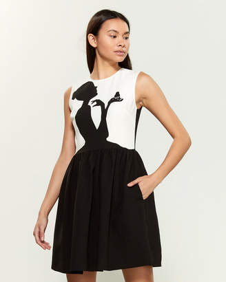 Moschino Gentlewoman Sleeveless Skater Dress