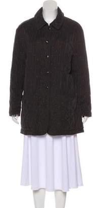 Hermes Embroidered Short Coat
