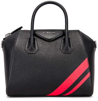 Givenchy Small Antigona Bag in Black & Red | FWRD