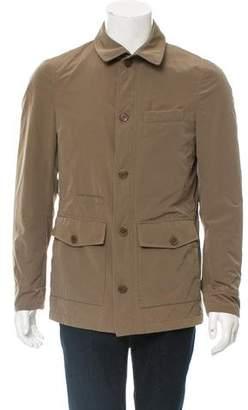 Brunello Cucinelli Woven Utility Jacket w/ Tags
