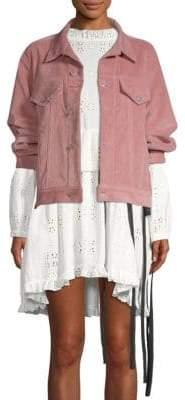 Sandy Liang Two-Way Corduroy Jacket