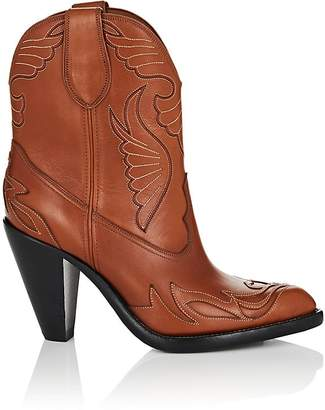 Givenchy Women's Leather Western Ankle Boots
