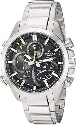 Casio Men's 'Edifice Solar Connected' Quartz Stainless Steel Casual Watch