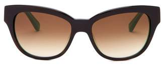Kate Spade Aisha 54mm Cat Eye Sunglasses