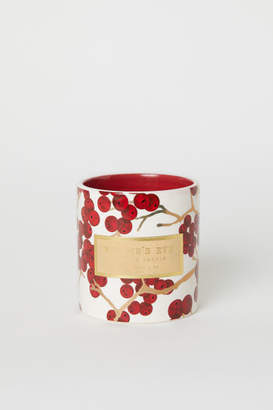 H&M Large Scented Candle - Red