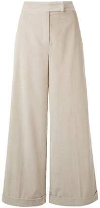 Max Mara 'S cropped wide leg trousers