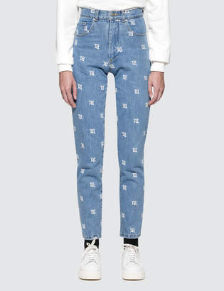 Misbhv Monogram Denim Trousers