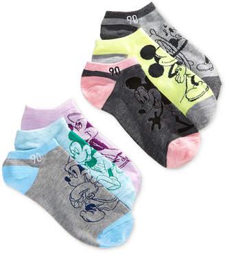 Disney 6-Pk. Mickey Mouse No-Show Socks