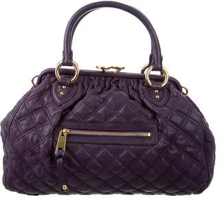 Marc Jacobs Marc Jacobs Leather Stam Bag