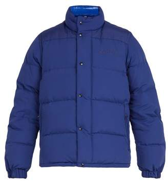 Burberry - Hillcross Detachable Sleeve Padded Jacket - Mens - Blue
