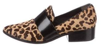 3.1 Phillip Lim Printed Ponyhair Loafers