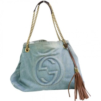 Gucci Soho Blue Denim - Jeans Handbags