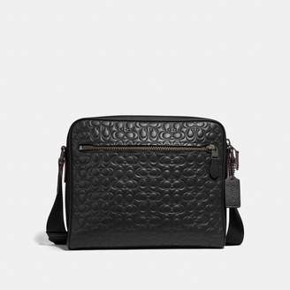 Coach Metropolitan Camera Bag In Signature Leather