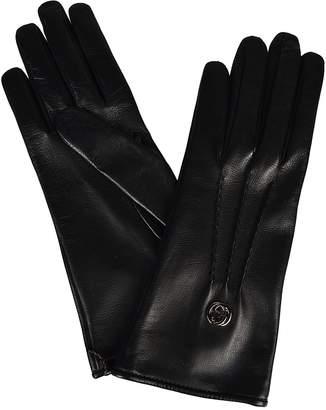 Gucci Logo Gloves