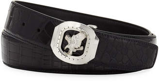 Stefano Ricci New Eagle Crocodile Belt