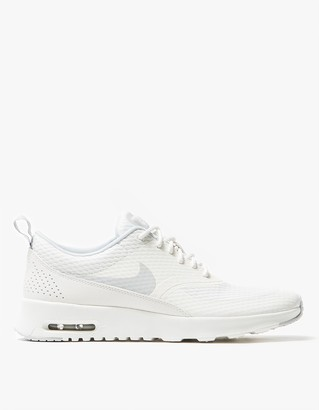 Air Max Thea TXT in White $100 thestylecure.com