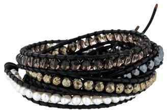 Chan LuuChan Luu Multistone Bead Wrap Bracelet