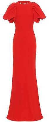 Alexander McQueen Crêpe gown