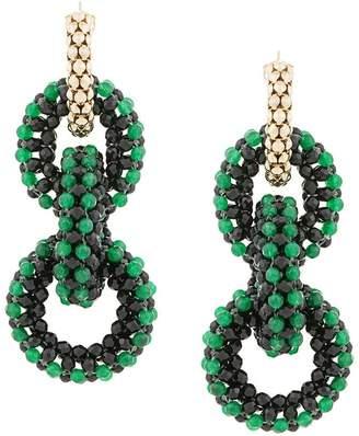Rosantica interlink earrings