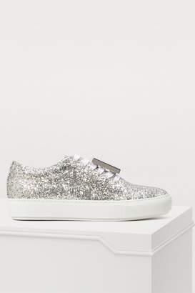Acne Studios Adriana glittery sneakers