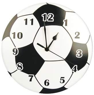 Trend Lab Soccerball Wall Clock Black/White