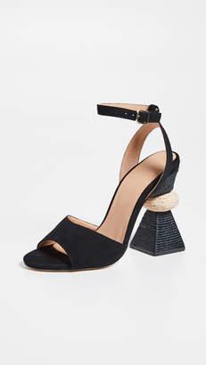 Paloma Barceló Bibi Traingle Heel Sandals