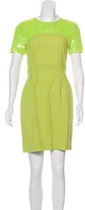 Jonathan Saunders Embellished Mini Dress