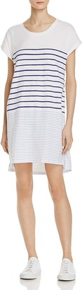 Sundry Stripe Tee Shirt Dress $108 thestylecure.com