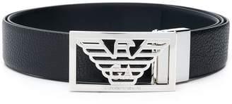 Emporio Armani slide logo belt