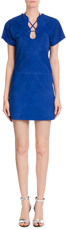 Emilio Pucci Emilio Pucci Suede Mini-Dress