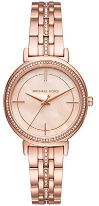 Michael Kors Women's Cinthia Rose Gold-Tone Watch MK3643