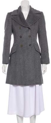Joseph Double-Breasted Wool Coat