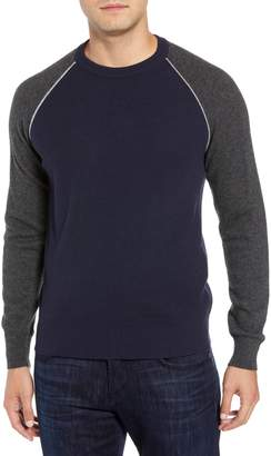 Luciano Barbera Active Crewneck Wool & Cashmere Sweater