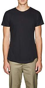 Chapter MEN'S SLUB COTTON-BLEND T-SHIRT-NAVY SIZE XS
